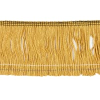 "3"" Chainette Fringe Trim Antique Gold"