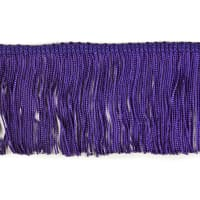 "3"" Chainette Fringe Trim Plum"