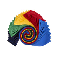 "QT Fabrics Illusions Colours 2 1/2"" Strip Roll 42 Pcs"