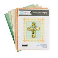 "QT Fabrics Easter Parade Easter Cross 35"" x 40"" Quilt Kit"
