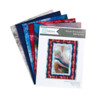 "QT Fabrics Fusion Picture This 46"" x 60"" Quilt Kit Red"