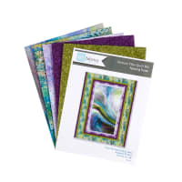 "QT Fabrics Digital Fusion Picture This 46"" x 60"" Quilt Kit Green"