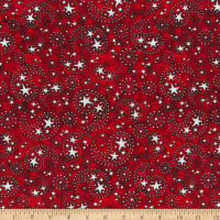 QT Fabrics All American Star Paisley Brick