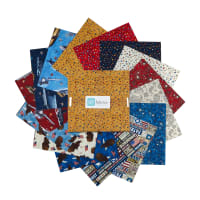 "QT Fabrics All American 10"" Squares Bundle 42 pcs Multi"