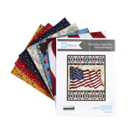 "QT Fabrics All American Flag Quilt Kit 42"" x 50"""