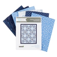"QT Fabrics Danbury 54"" x 66"" Quilt/Throw Kit"