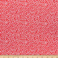 QT Fabrics Gnomesville Dots Red