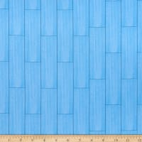 QT Fabrics Gnomesville Wood Blue
