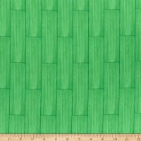 QT Fabrics Gnomesville Wood Leaf Green