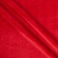 STOF France Bambou Terry Cloth Toweling Rouge