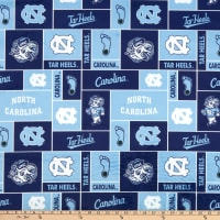 NCAA North Carolina Tar Heels Box Minky