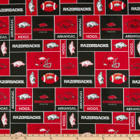 NCAA Arkansas Razorbacks Box Minky