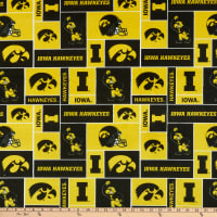 NCAA Iowa Hawkeyes Box Minky