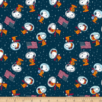 Peanuts Snoopy Space Toss Navy