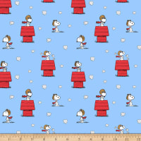 Peanuts Snoopy Red Baron Toss Blue