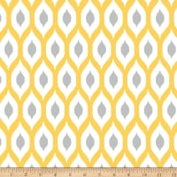 Springs Creative Ikat Ogee Yellow