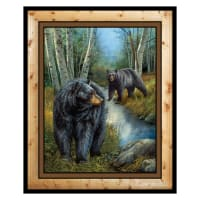 "Wild Wings Reluctant Companion 36"" Wall Panel Multi"