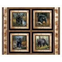 """Wild Wings Reluctant Companion 36"""" Pillow Panel Multi"""