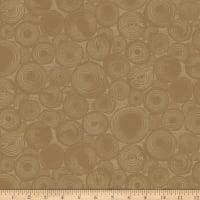 Clothworks Wild and Free Geometric Caramel