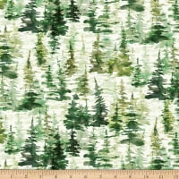 Hoffman Digital Fly Home Forest Trees Pine