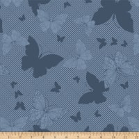 Hoffman Digital Paradigm Shift Tonal Butterfly Navy