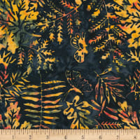 Timeless Treasures Tonga Batik Nature's Lodge Forest Mix Midnight
