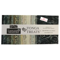 "Timeless Treasures Tonga Batik Treat 5"" Square Pack Canyon 40 pcs Multi"