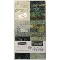 "Timeless Treasures Tonga Batik Treat 2.5"" Strip Pack Canyon 20 pcs Multi"