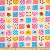 Fabric Merchants Cotton Seersucker Summer Patchwork Yellow