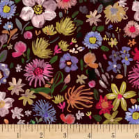 Dear Stella Digital Falling For You Autumn Floral Multi