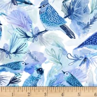Dear Stella Digital December To Remember Bluebirds Multi