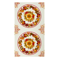 "Henry Glass Autumn Is Calling Placemat 24"" Panel Cream"