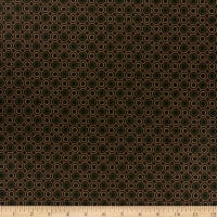 Henry Glass October Morning Dotted Hexies Brown