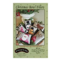 All Through The Night Christmas Bowl Fillers Pattern By Bonnie Sullivan