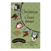 All Through The Night Christmas Cheer Banner Pattern By Bonnie Sullivan