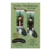 All Through The Night Winter Wonderland Stockings Pattern By Bonnie Sullivan