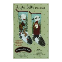 All Through The Night Jingle Bells Stockings Pattern By Bonnie Sullivan
