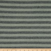 Fabric Merchants Rayon Spandex Knit Charcoal/Heather Grey