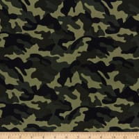 Kokka Tote World Standard Camouflage Oxford Green