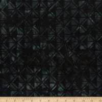 Wilmington Batik Geometric Black