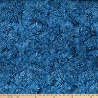 Wilmington Batik Packed Paisley Blue