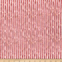 Wilmington America  My Home Stripes Red