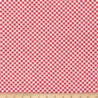 Wilmington America  My Home Gingham Red