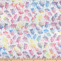 "Wilmington Essentials 108"" Backing Petals White/Multi"