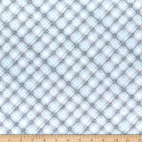 Wilmington Snow Valley Gingham Gray