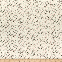 Wilmington Holiday In The Woods Dots Cream