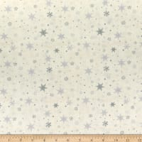 Wilmington Holiday In The Woods Snowflakes Cream