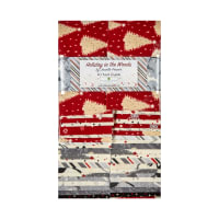 """Wilmington Holiday in the Woods 2 1/2"""" Strips 40pcs Multi"""