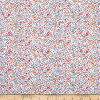Liberty Fabrics Tana Lawn Katie and Millie Pink/Blue