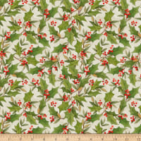 Susan Winget Cardinal Noel Holly Toss Cream